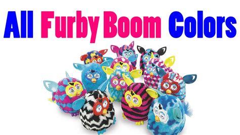 color boom furby boom colors