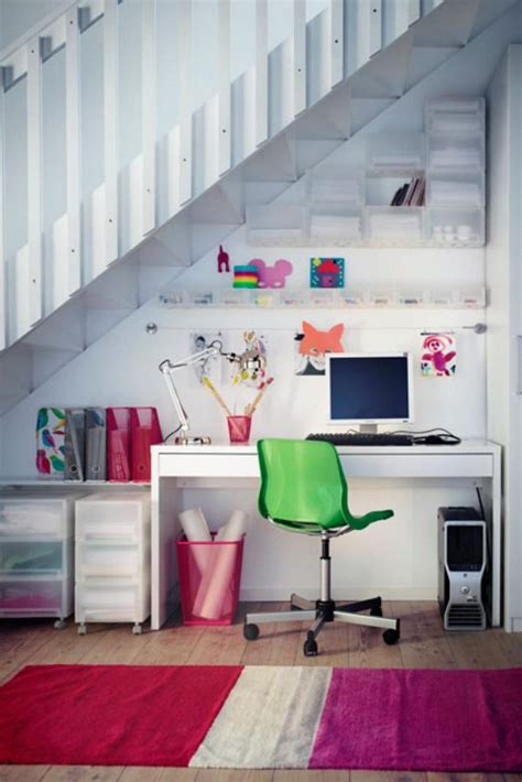 space saving  stairs home offices