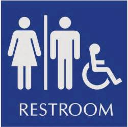 Bathroom Signs Printable Signs Handicapped Restroom Just B Cause