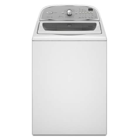 shop whirlpool cabrio 3 6 cu ft high efficiency top load washer white at lowes com