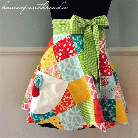 free sewing pattern half apron 198 best aprons images on pinterest