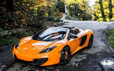 orange mclaren wallpaper wallpapers mclaren mp4 12c spider 2016 supercar