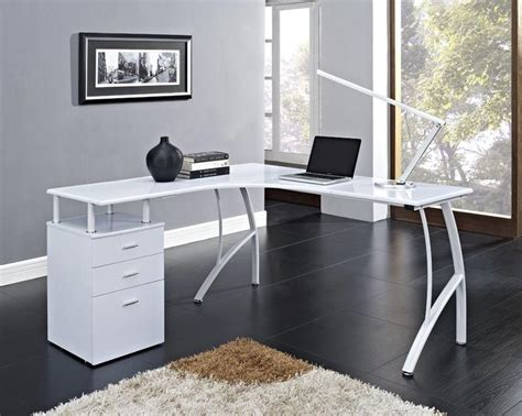Corner Desk For Two Computers by 25 Best Ideas About White Corner Computer Desk On