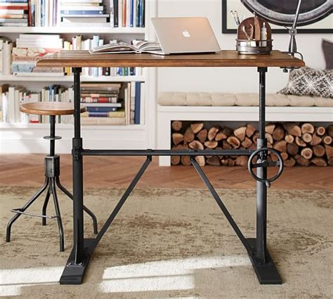 pottery barn standing desk pittsburgh crank sit stand desk pottery barn