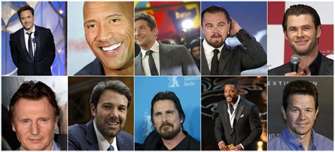 highest paid actors in the world 2014 top ten 171 top ten lists best lists