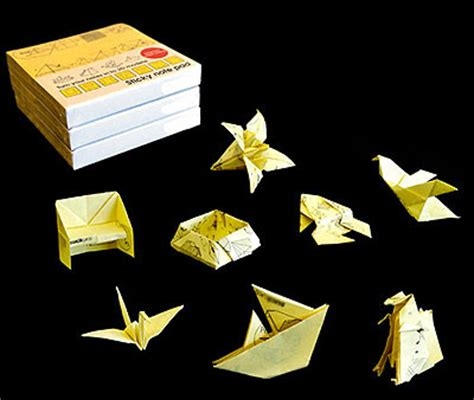 Origami With Post It Notes - post it origami