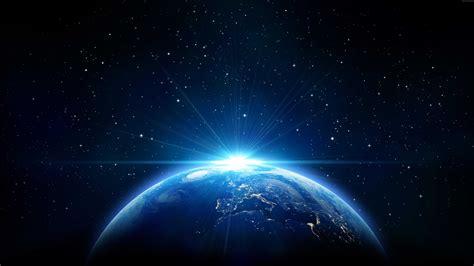 wallpaper earth stars hd  space