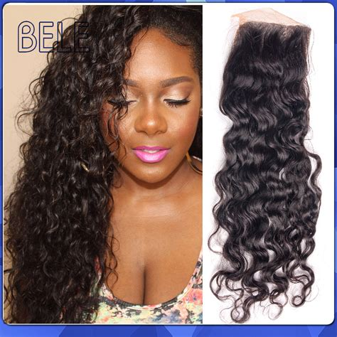 and wavy human hair wet and wavy human hair closures indian remy hair