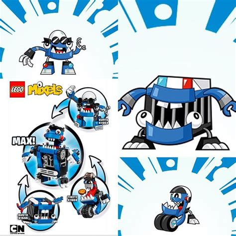 Lego Mixels Seri 8 Set 3pcs Sharx 41566 Skulzy 41567 Lewt 41568 jual lego mixels series 7 the mcpd mixel seri kuffs busto