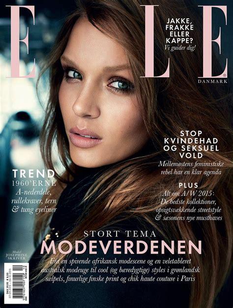 2015 w magazine cover october elle denmark october 2015 magazine cover elle denmark
