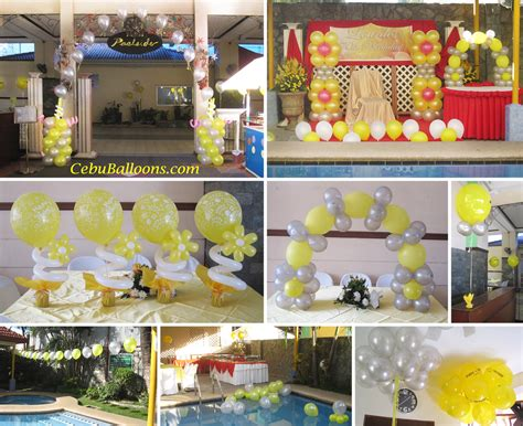 70 Birthday Decorations by Decoration Package For A 70th Birthday Cebu Balloons And