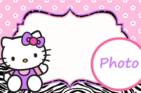 invitation layout hello kitty personalized hello kitty invitation template invitations