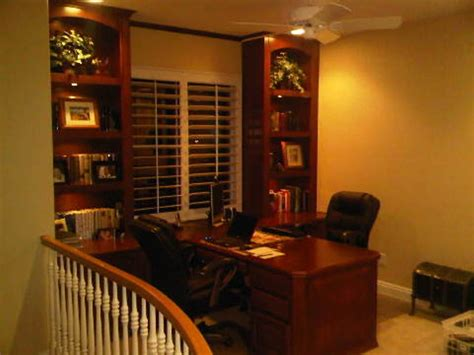 Newport Country Style Home Office Built In Home Office Furniture With Partner Desk In