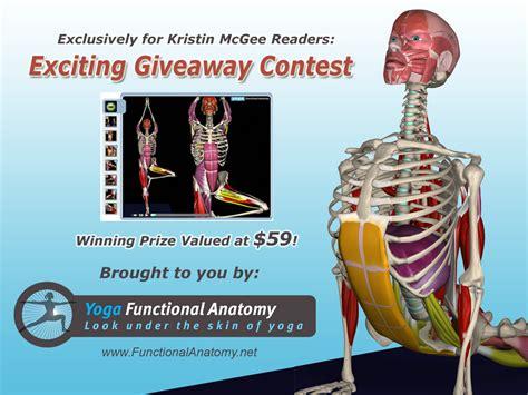 functional anatomy of yoga yoga functional anatomy software giveaway kristin mcgee