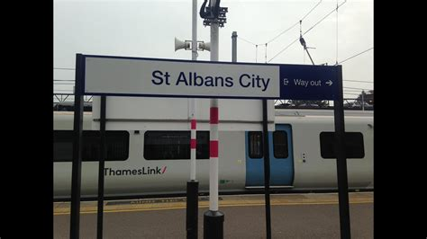thameslink to st albans full journey on thameslink class 700 from st albans to