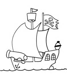 pirate ship coloring page free on pirate ship coloring pages