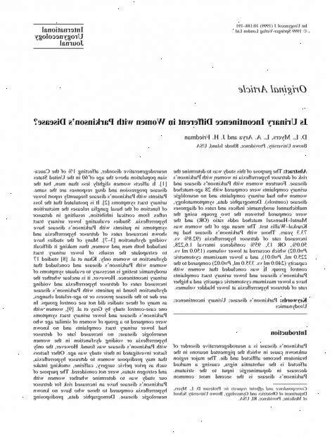La incontinencia urinaria – Nipalos