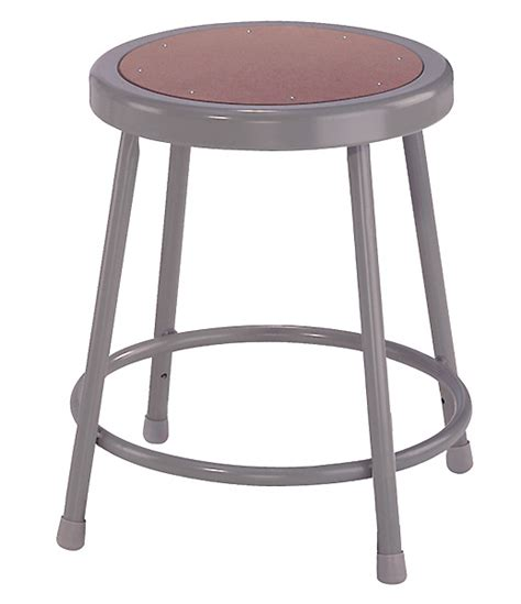High Weight Capacity Bar Stools by Fixed Height Heavy Duty Lab Shop Stools 18 Quot H Stool