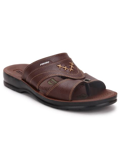 slippers india vkc brown slippers price in india buy vkc brown slippers