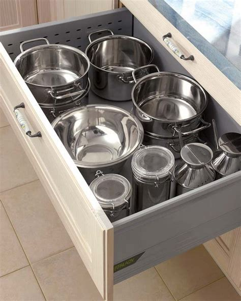 Kitchen Drawers Ideas 70 Practical Kitchen Drawer Organization Ideas Shelterness