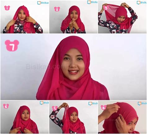 tutorial hijab pashmina untuk hari kartini tutorial hijab pashmina casual untuk acara sehari hari