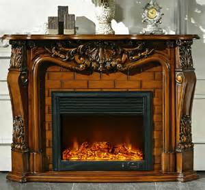 led realistic electric decorative fireplace a color