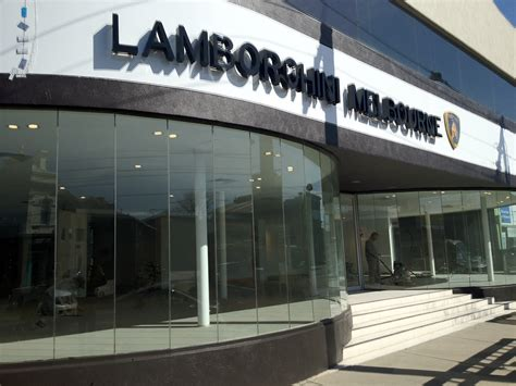 Melbourne Lamborghini Zagame Automotive S New Home For Lamborghini Melbourne