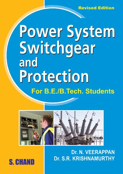 details books power system switchgear and protection by n veerapan