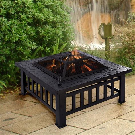 electric pit for patio carriage light fixtures
