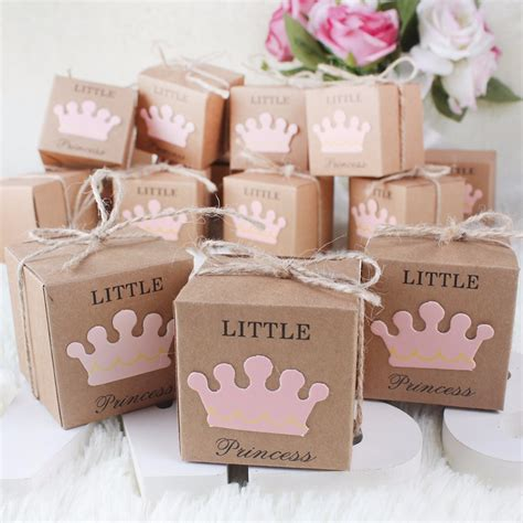 Wedding Favors And Decorations by 10pcs Kraft Paper Gift Box Boxes Baby Shower