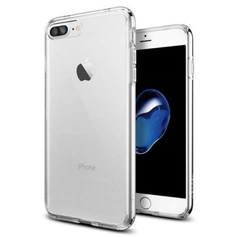 Soft 360 Iphone 7 Plus Casing Bahan Halus Silicon jual spigen iphone 7 plus ultra hybrid clear indonesia original harga murah