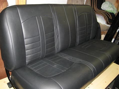 chevy bench seat auto upholstery repair classic car restoration shop