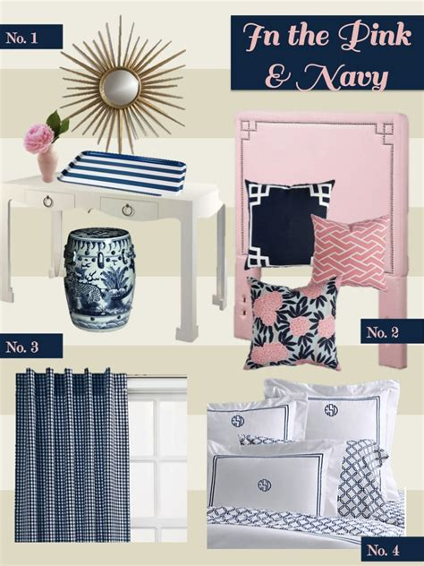 Navy Pink Bedroom by Pink And Navy Bedroom