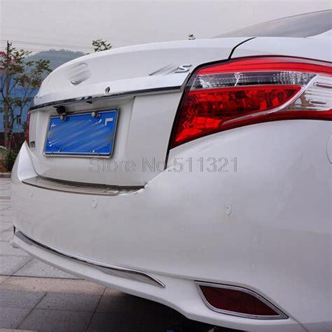 Altenator Allnew Yaris Vios 2014 Now Ori Automotif for toyota vios yaris 4dr sedan 2013 2014 abs chrome rear bumper protector garish sill car