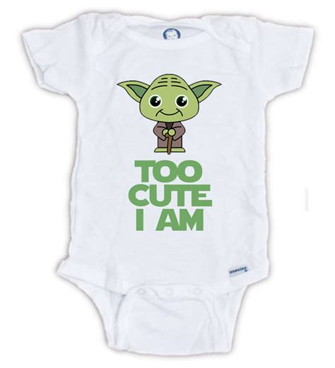 wars baby clothes wars yoda onesie by jujuapparel on etsy baby
