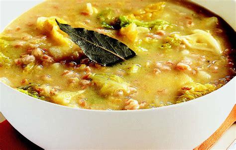 zuppa di sedano e patate ricetta minestra di farro verza e patate le ricette de