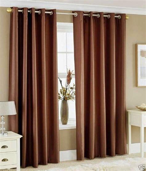 fancy door curtains light coffee set of 2 fancy heavy crush door curtains