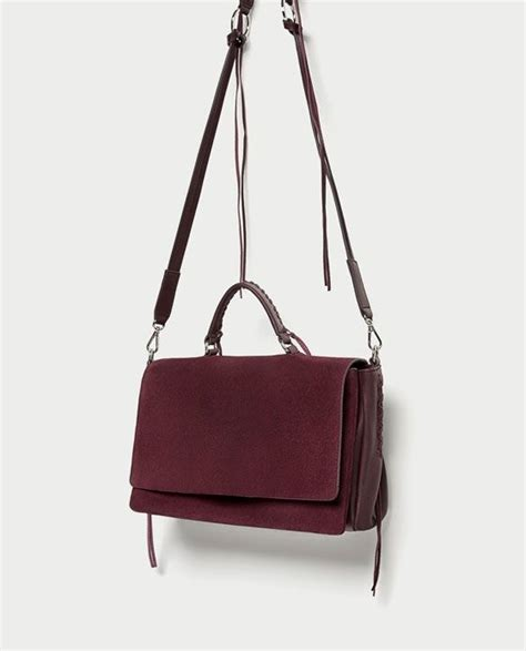 image 4 of braided leather city bag from zara fashion - Braided Leather City Bag