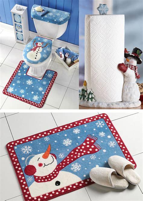holiday bathroom decor especially for kids amazing christmas bathroom decoration