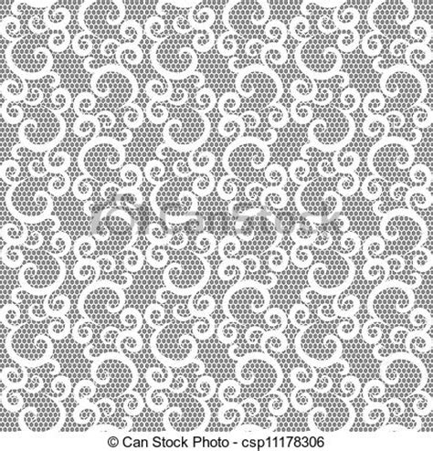 grey pattern clipart white lace seamless pattern on gray stock illustration