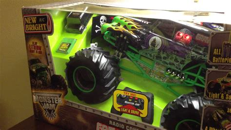 rc monster jam trucks for sale grave digger monster jam rc toy truck part 2 youtube