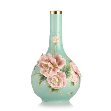 franz vase franz porcelain elegance cotton vase limited edition