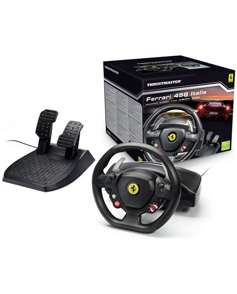 thrustmaster volante thrustmaster f458 italia racing wheel pc xbox
