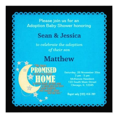 baby shower for adoptive parents adoption baby shower boy