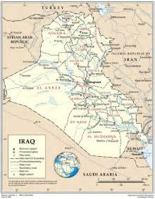 baghdad world map iraq administrative maps