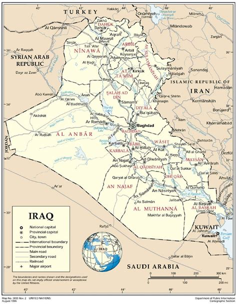map of baghdad iraq iraq administrative maps
