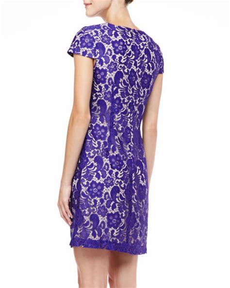 Lace Sleeve T Shirt Dress sleeve crewneck lace t shirt dress