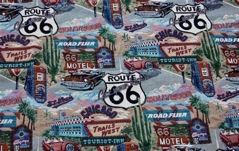route 66 upholstery fabric route 66 fabulous tapestry upholstery fabric 105x 55