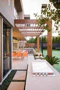 Modern Outdoor Pergolas by Modern Pergola Landscape Contemporary With Contemporary