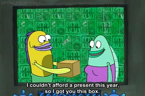 spongebob box lol spongebob spongebob squarepants present box